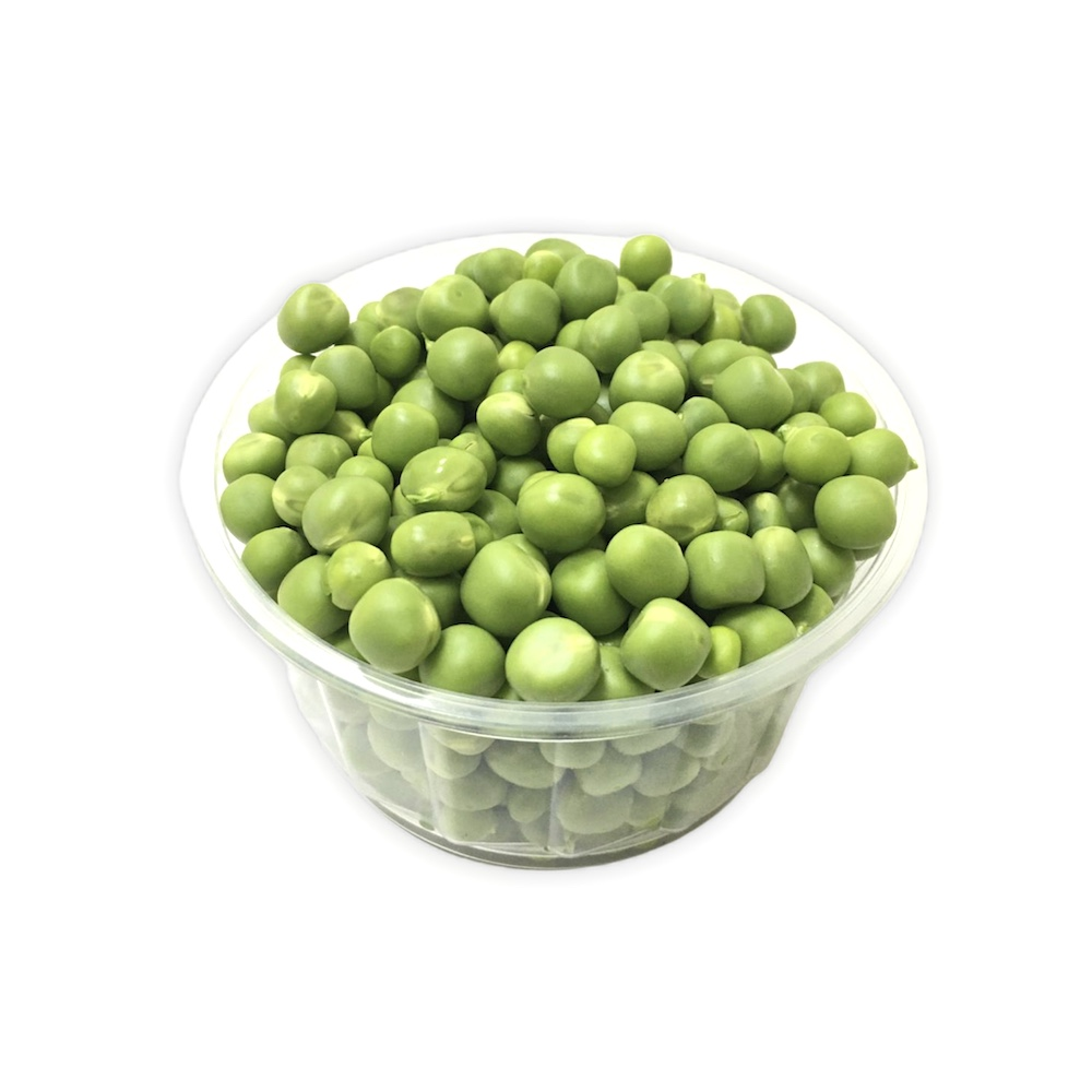 Green peas cut